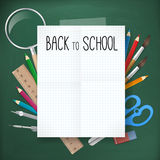 Back to school  illustration Stock Photo