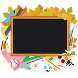 Back to School. Image with Free Space for Text Royalty Free Stock Images