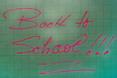 Back to school 22 Royalty Free Stock Images