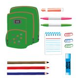 Back to school items Stock Photos