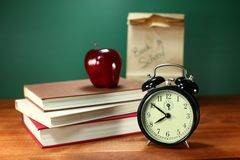 Back to School Items Stock Photo