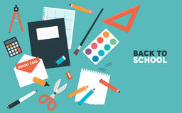 Back to School Items Stock Photography