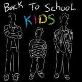 Back to School Kids Stock Image