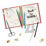 Back to school for kids background business. Have to back to school background for business Stock Photography