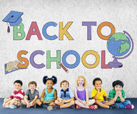 Back To School Kids Education Concept Stock Images