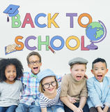 Back To School Kids Education Concept Royalty Free Stock Image