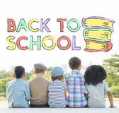 Back To School Kids Education Concept. Back To School Kids Education Stock Images