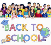 Back To School Kids Education Concept. Back To School Kids Education Royalty Free Stock Image