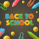 Back to school, Kindergarten play and learn Stock Image