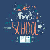 Back To School Lettering Stock Image