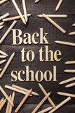 Back to the school Royalty Free Stock Images