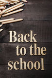 Back to the school Royalty Free Stock Photos