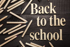 Back to the school Royalty Free Stock Image
