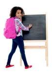 Back To School - Little Schoolgirl Stock Image