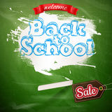 Back to School marketing background. EPS 10 Stock Image