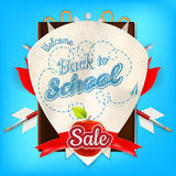 Back to School marketing background. Royalty Free Stock Images
