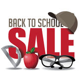 Back to School marketing header Stock Images
