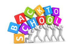 Back to school metaphor Stock Image