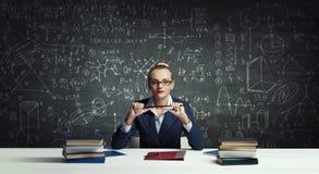 Back to school . Mixed media royalty free stock image