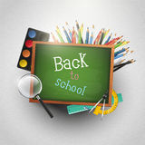Back to school - modern background Stock Photography