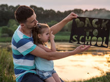 Back to school in nature Stock Photos