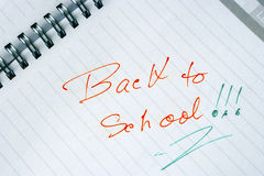 Back to school 3 Royalty Free Stock Photography