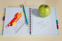 Back to school. Royalty Free Stock Image