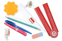 Back to school objects Stock Images
