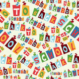 Back to School pattern Stock Image