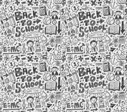 Back to school pattern Stock Photo