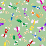 Back to School Pattern stock illustration