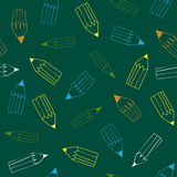 Back to School pattern Royalty Free Stock Photo