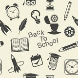 Back to School pattern Stock Photos