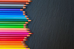 Back to school pencils Royalty Free Stock Image