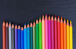 Back to school pencils Stock Images