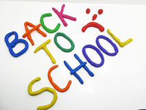 Back to school phrase Royalty Free Stock Photography