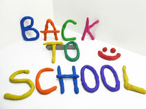 Back to school phrase Stock Images