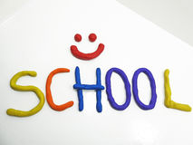 Back to school phrase Stock Photo