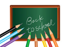 Back to school poster Stock Images