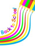 Back to school Poster Royalty Free Stock Images