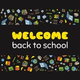Back to School poster Stock Photography