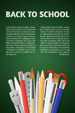 Back to School poster stock illustration
