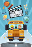 Back to School Poster Royalty Free Stock Photos