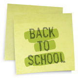 Back to school reminder. Royalty Free Stock Image