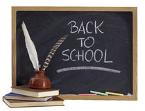 Back to school - retro concept Royalty Free Stock Photos