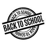 Back To School rubber stamp Royalty Free Stock Photography