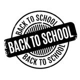 Back To School rubber stamp Royalty Free Stock Photos