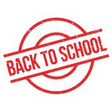 Back To School rubber stamp Stock Photography