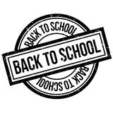 Back To School rubber stamp Royalty Free Stock Images