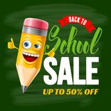 Back To School Sale Royalty Free Stock Images